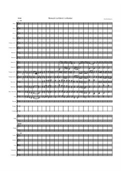 Concerto for Piano and Orchester, I movement